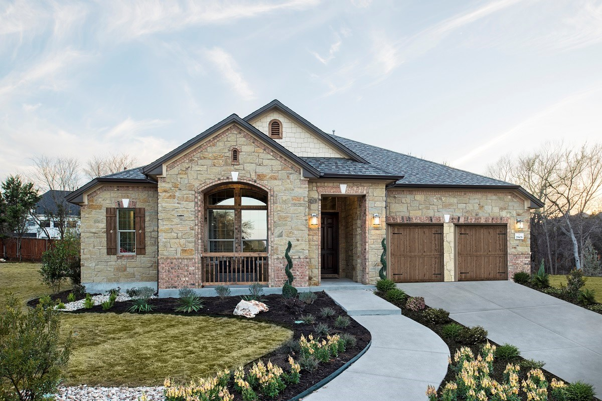 New Homes in Leander, TX - Mason Hills - The Bluffs The L-3005