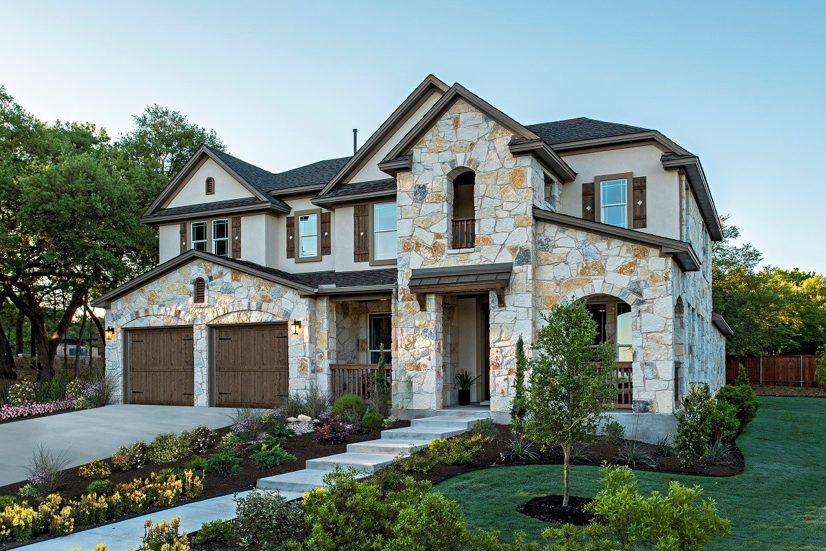 New Homes in Leander, TX - Mason Hills - The Bluffs The L-3471