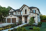 New Homes in Round Rock, TX - Plan L-3471 MODELED