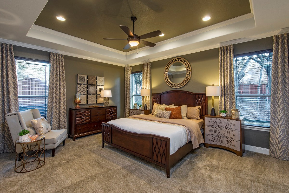 New Homes in Leander, TX - Mason Hills - The Bluffs The L-3471 Master Bedroom