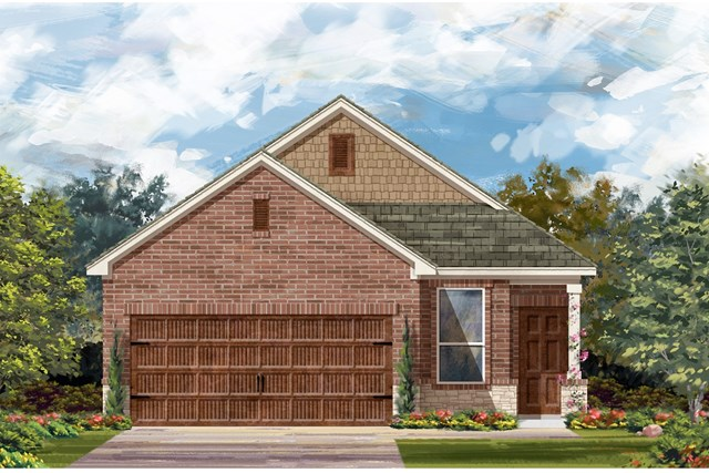 New Homes in Round Rock, TX - Plan F-1353 K