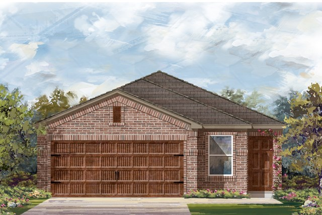 New Homes in Round Rock, TX - Plan F-1585 I
