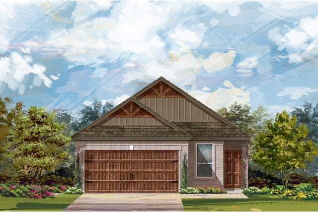 New Homes in Round Rock, TX - Plan F-1585 L