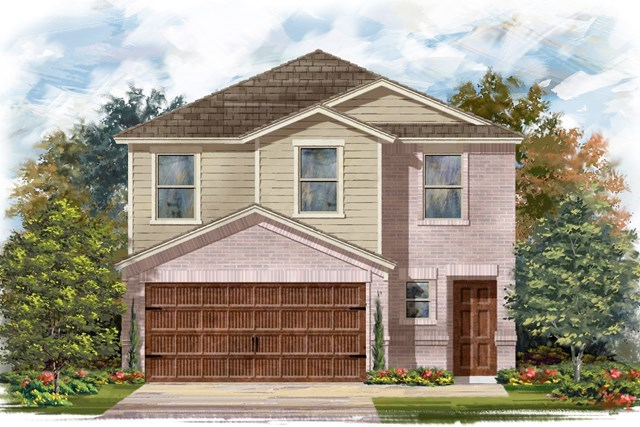 New Homes in Round Rock, TX - Plan F-1601 I