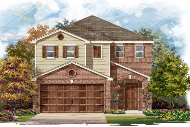 New Homes in Round Rock, TX - Plan F-1771 I