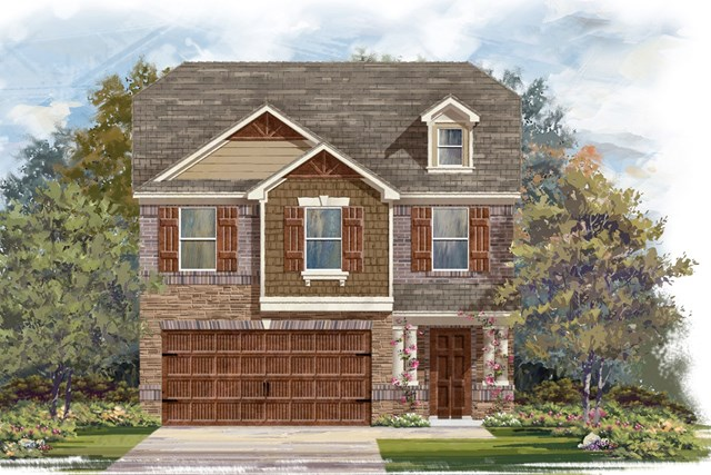 New Homes in Round Rock, TX - Plan F-1909 K