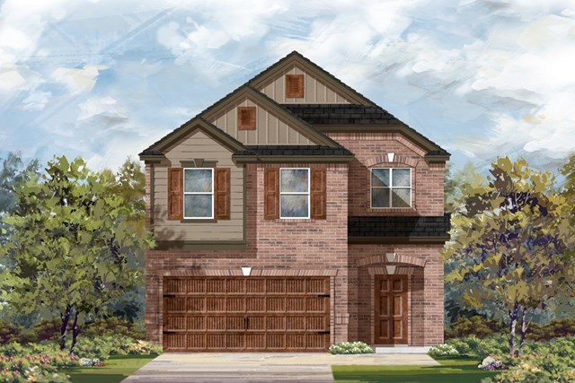 New Homes in Round Rock, TX - Plan F-1909 L