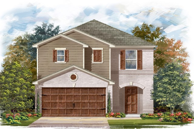 New Homes in Round Rock, TX - Plan F-2038 I