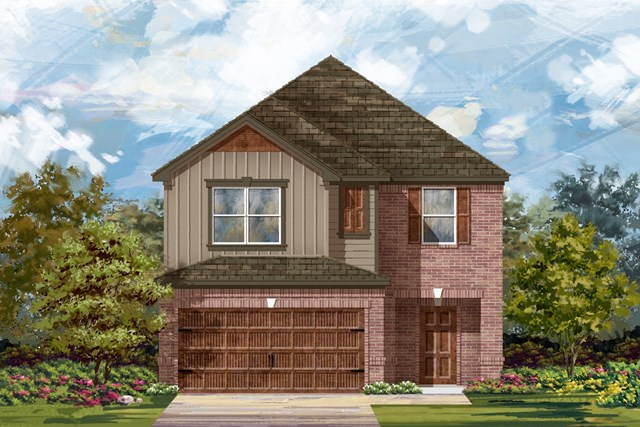 New Homes in Round Rock, TX - Plan F-2038 L
