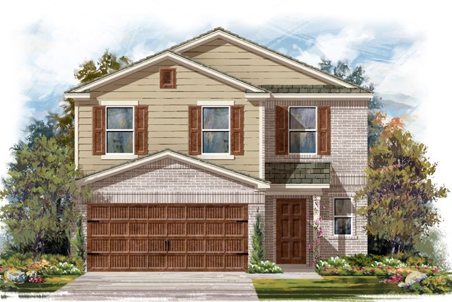 New Homes in Round Rock, TX - Plan F-2239 I