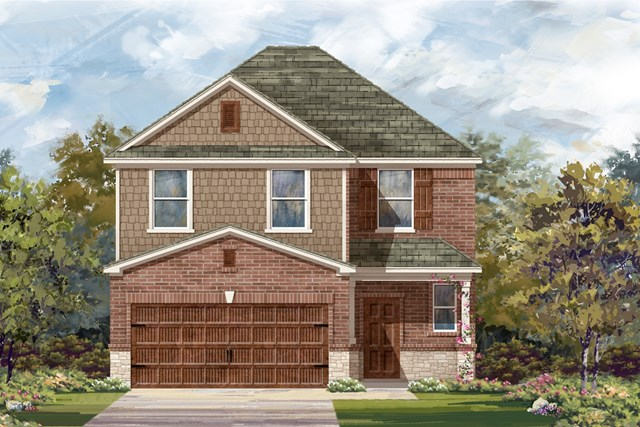 New Homes in Round Rock, TX - Plan F-2239 K