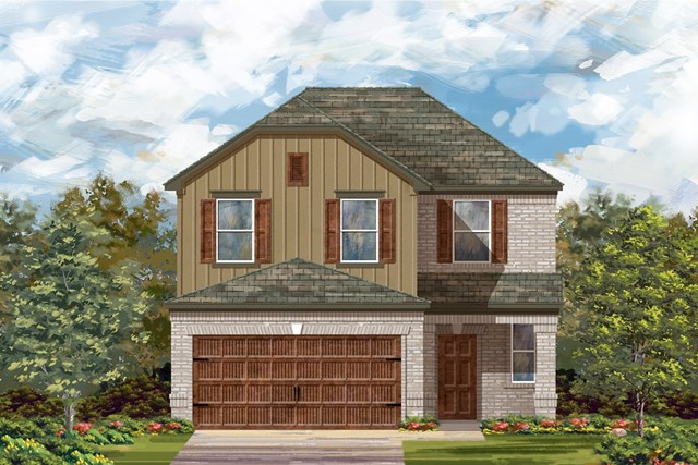 New Homes in Round Rock, TX - Plan F-2239 L