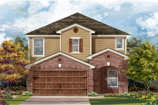New Homes in Round Rock, TX - Plan F-2411 I