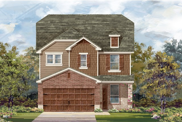 New Homes in Round Rock, TX - Plan F-2411 K