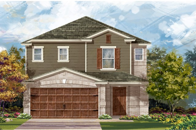 New Homes in Round Rock, TX - Plan F-2495 I