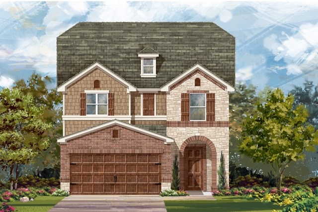 New Homes in Round Rock, TX - Plan F-2495 K