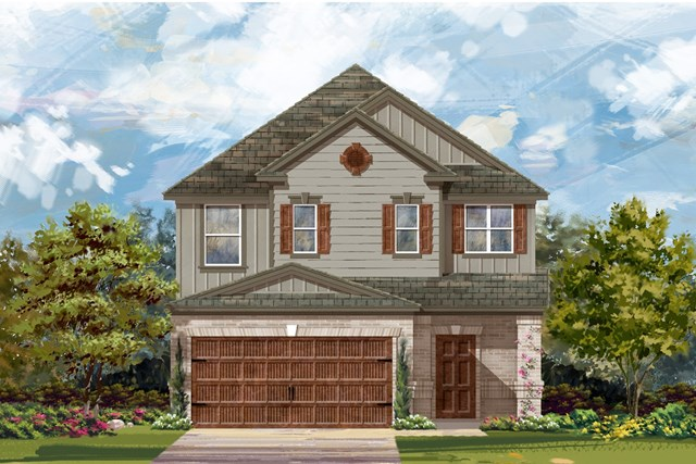 New Homes in Round Rock, TX - Plan F-2495 L