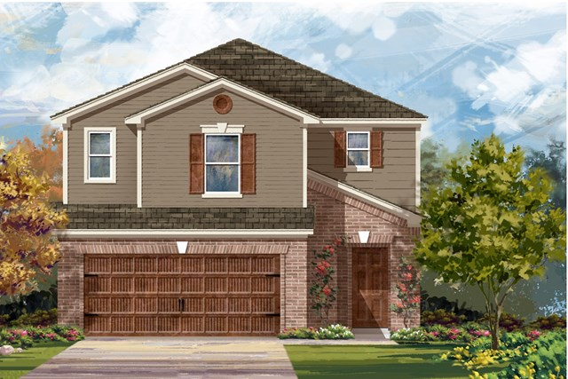New Homes in Round Rock, TX - Plan F-2604 I