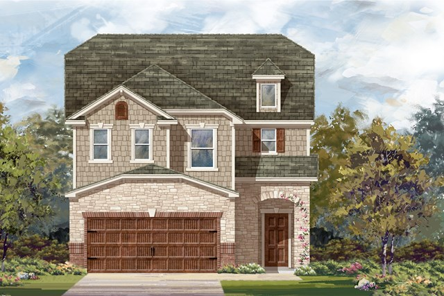 New Homes in Round Rock, TX - Plan F-2604 K