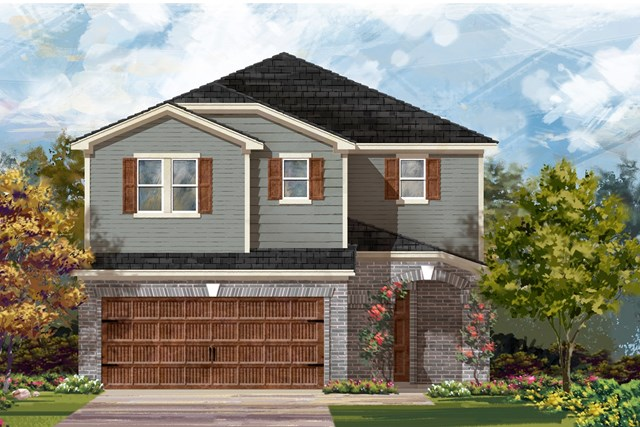 New Homes in Round Rock, TX - Plan F-2708 I