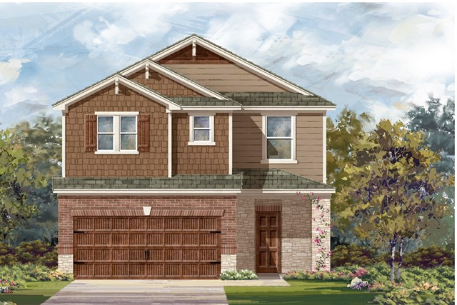 New Homes in Round Rock, TX - Plan F-2708 K