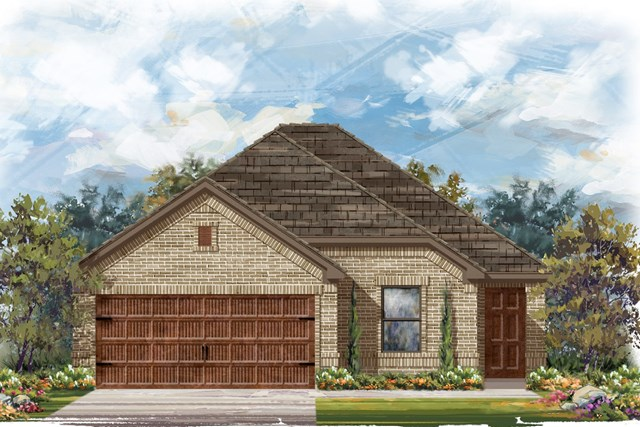 New Homes in Round Rock, TX - Plan E-1694 H