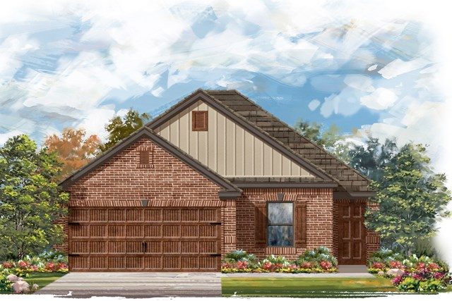 New Homes in Round Rock, TX - Plan E-1694 I