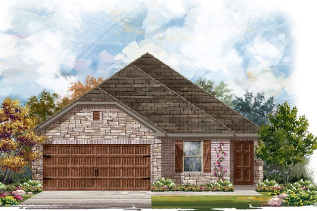 New Homes in Round Rock, TX - Plan E-1694 J