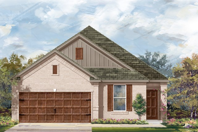 New Homes in Round Rock, TX - Plan E-1892 I