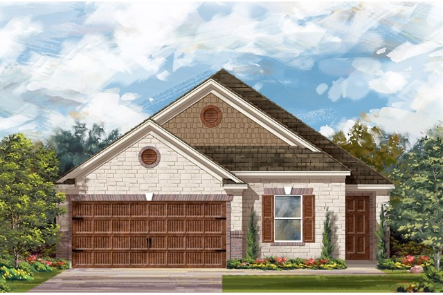 New Homes in Round Rock, TX - Plan E-1892 J