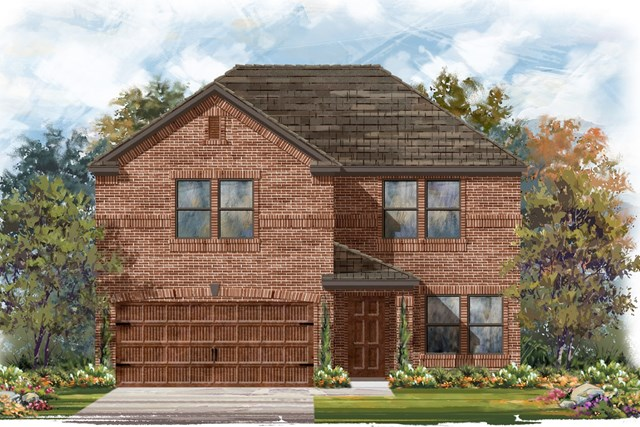 New Homes in Round Rock, TX - Plan E-2561 H