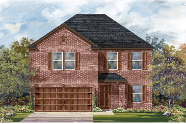 New Homes in Round Rock, TX - Plan E-2898 H