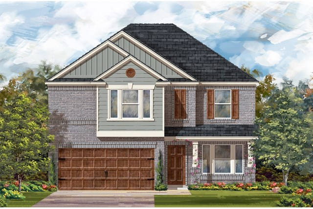 New Homes in Round Rock, TX - Plan E-2898 I