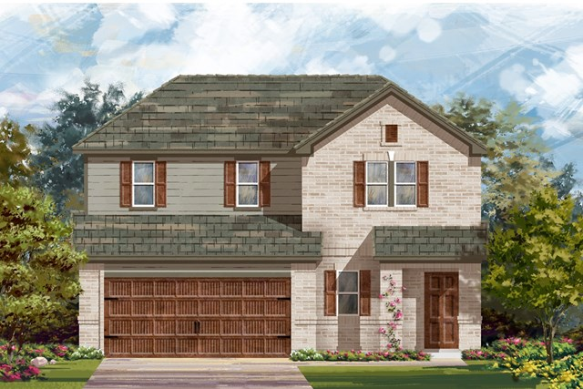 New Homes in Round Rock, TX - Plan E-2516 H
