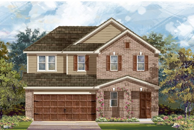 New Homes in Round Rock, TX - Plan E-2516 I