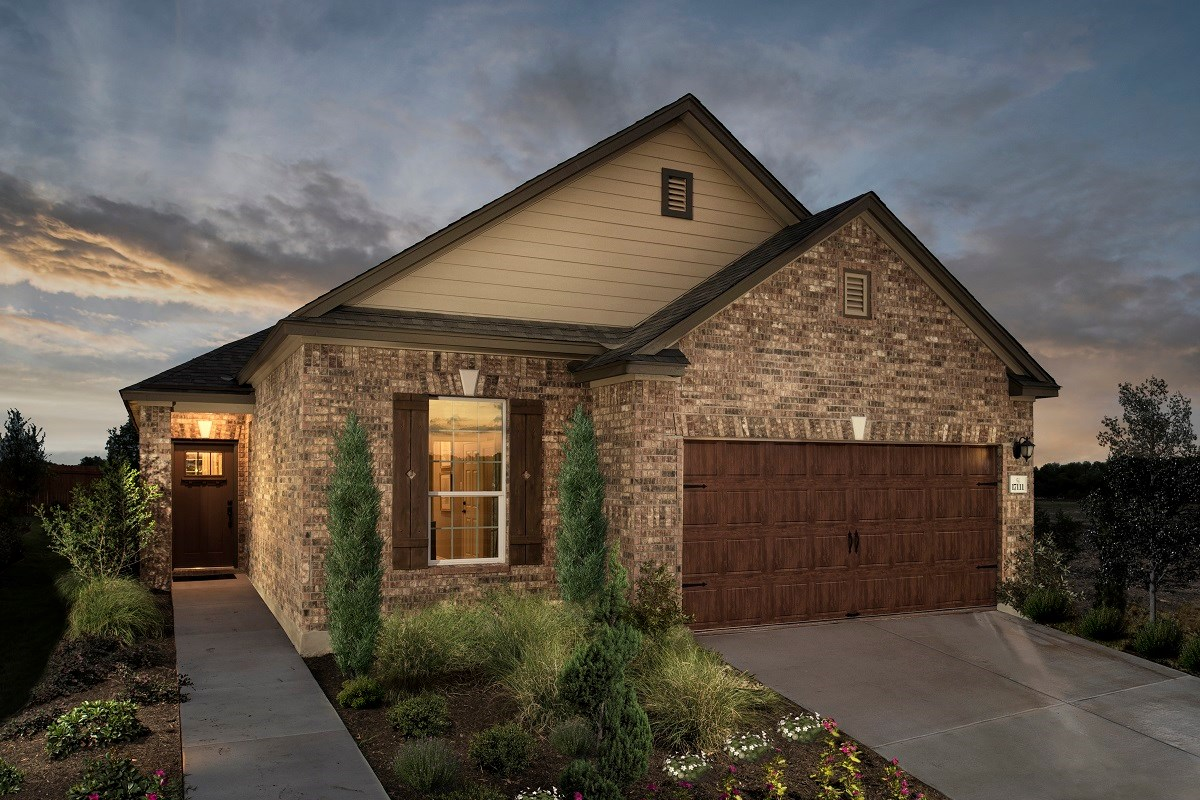 New Homes in Round Rock, TX - Greenlawn Village Plan E-1694
