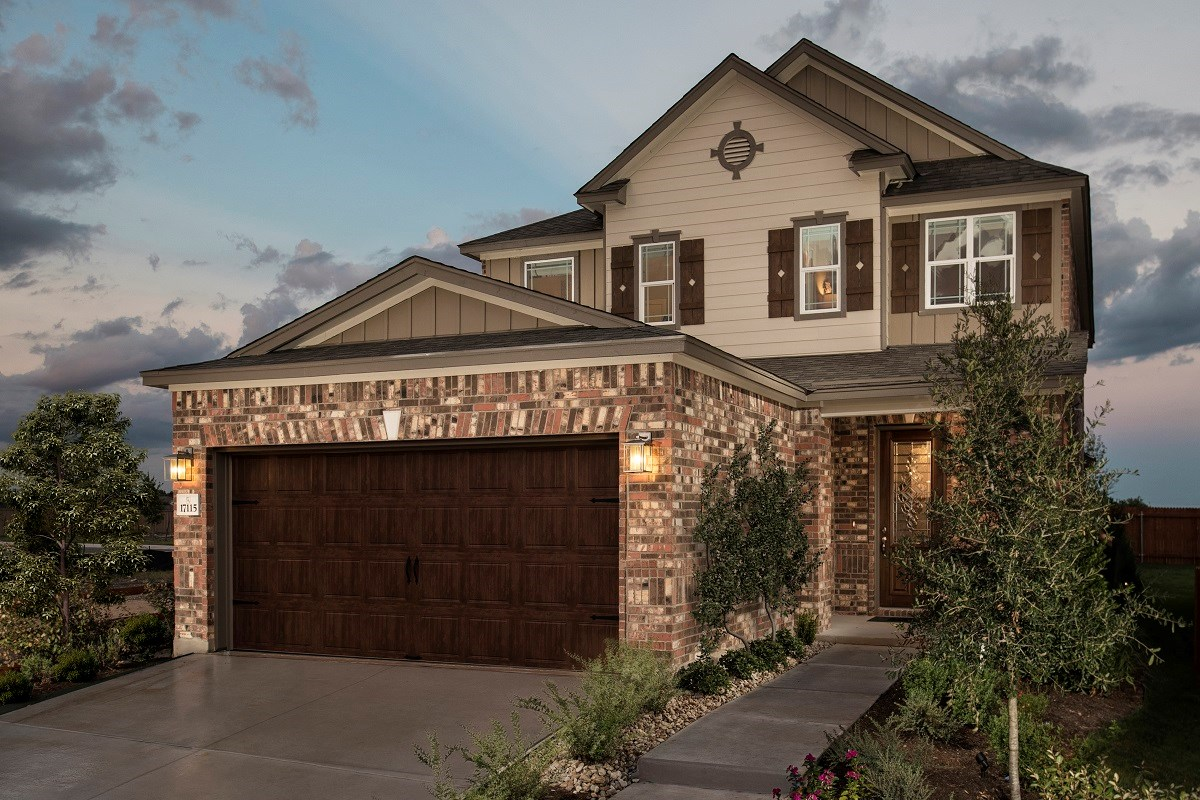 New Homes in Round Rock, TX - Greenlawn Village Plan F-2495