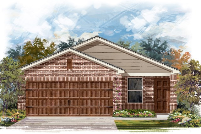 New Homes in Uhland, TX - Plan F-1353 I