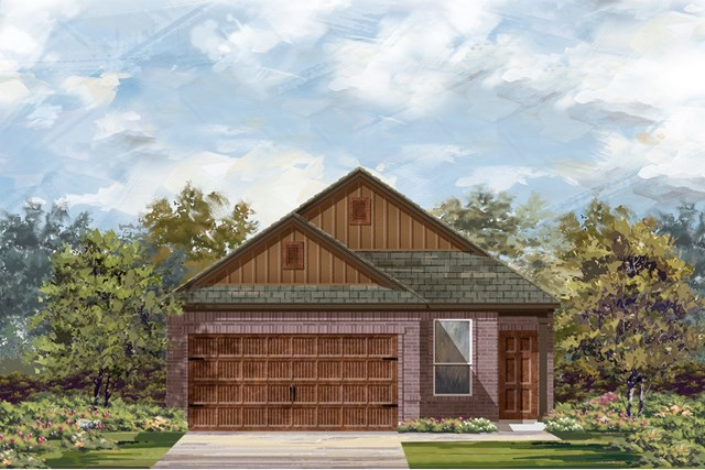 New Homes in Uhland, TX - Plan F-1353 L