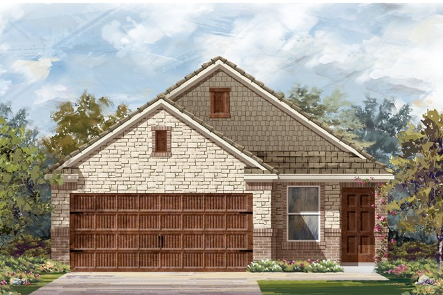 New Homes in Uhland, TX - Plan F-1585 K