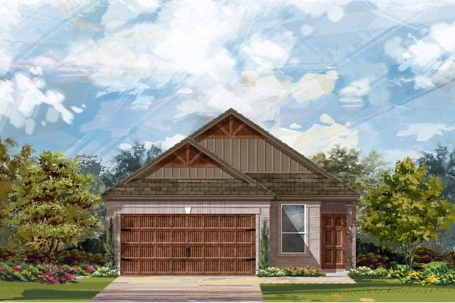 New Homes in Uhland, TX - Plan F-1585 L