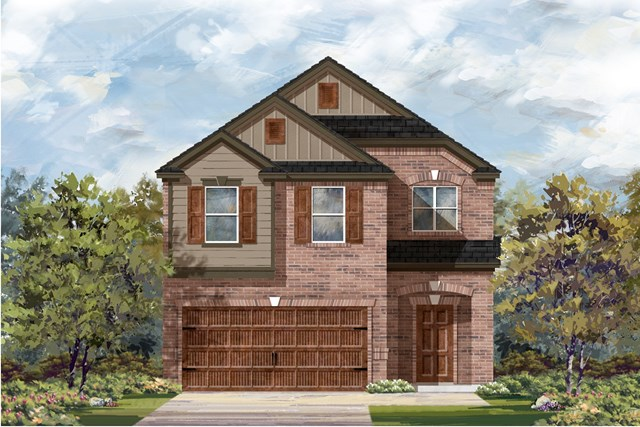 New Homes in Uhland, TX - Plan F-1909 L