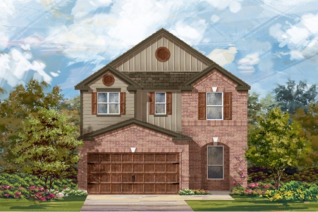 New Homes in Uhland, TX - Plan F-2411 L
