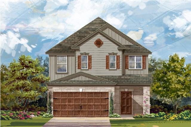 New Homes in Uhland, TX - Plan F-2495 L