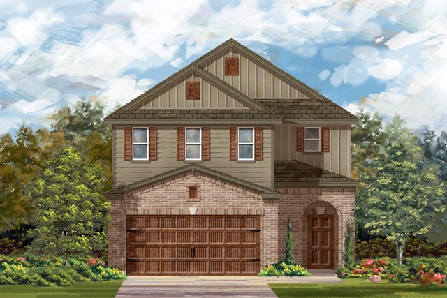 New Homes in Uhland, TX - Plan F-2604 L