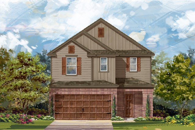 New Homes in Uhland, TX - Plan F-2708 L
