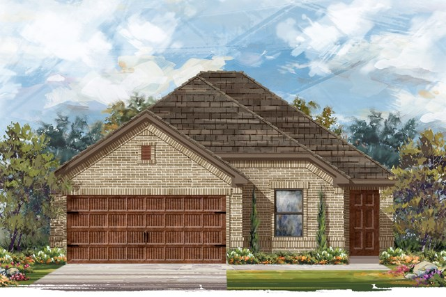 New Homes in Uhland, TX - Plan E-1694 H