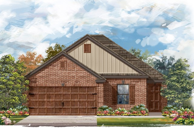 New Homes in Uhland, TX - Plan E-1694 I