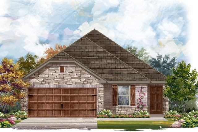 New Homes in Uhland, TX - Plan E-1694 J