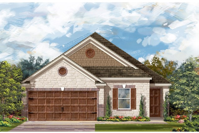 New Homes in Uhland, TX - Plan E-1892 J